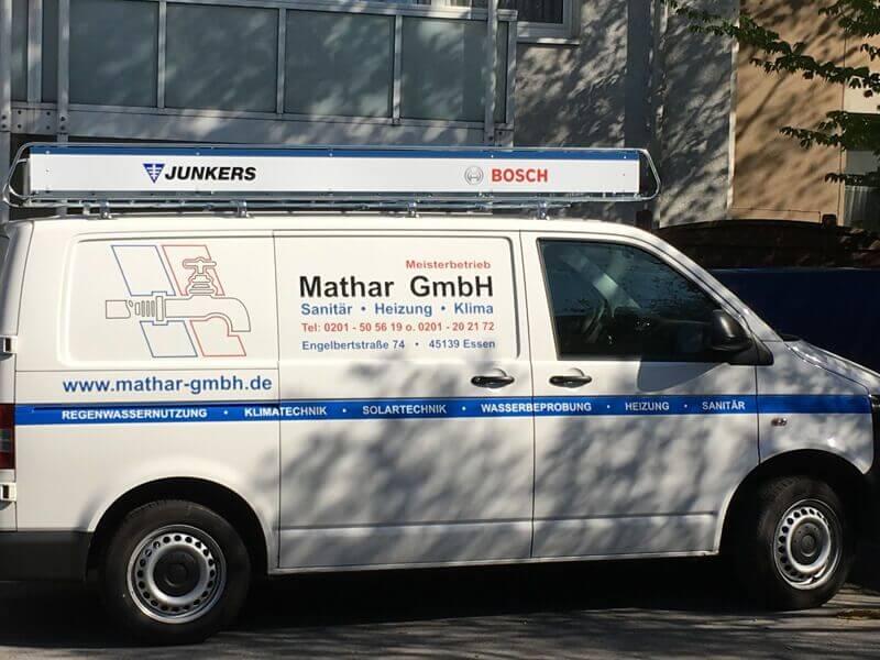 Firmenauto der Mathar GmbH